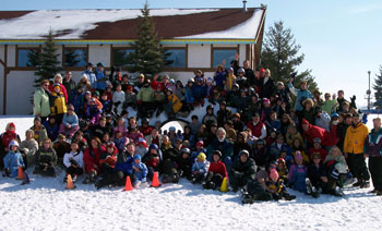 Our Kingsbury Ski Group at Mt. Holly